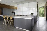 Фото 16 Серый цвет — тренд сезона: 100+ элегантных и современных вариантов серой кухни в интерьере
