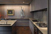 Фото 18 Серый цвет — тренд сезона: 100+ элегантных и современных вариантов серой кухни в интерьере