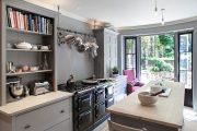 Фото 31 Серый цвет — тренд сезона: 100+ элегантных и современных вариантов серой кухни в интерьере