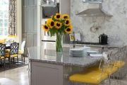 Фото 36 Серый цвет — тренд сезона: 100+ элегантных и современных вариантов серой кухни в интерьере