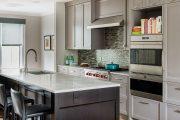 Фото 38 Серый цвет — тренд сезона: 100+ элегантных и современных вариантов серой кухни в интерьере
