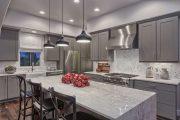 Фото 40 Серый цвет — тренд сезона: 100+ элегантных и современных вариантов серой кухни в интерьере