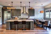 Фото 42 Серый цвет — тренд сезона: 100+ элегантных и современных вариантов серой кухни в интерьере