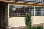 Фото 8 Прозрачные шторы для беседок и веранд: комфорт на даче круглый год и обзор наиболее изящных идей для декора