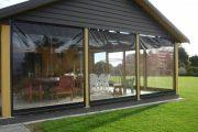 Фото 10 Прозрачные шторы для беседок и веранд: комфорт на даче круглый год и обзор наиболее изящных идей для декора