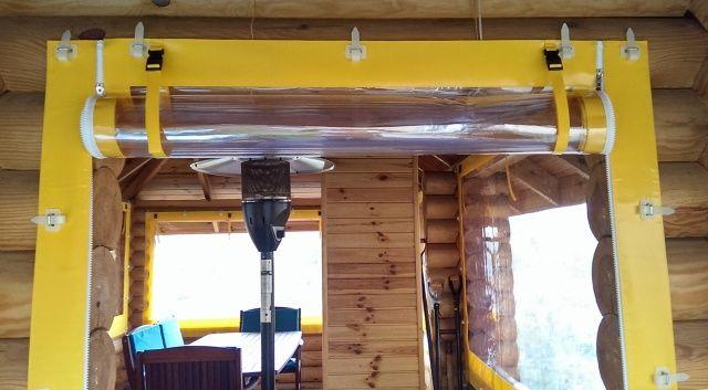 Рулонная система поднятия штор