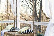 Фото 29 Прозрачные шторы для беседок и веранд: комфорт на даче круглый год и обзор наиболее изящных идей для декора