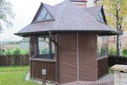 Фото 35 Прозрачные шторы для беседок и веранд (100+ фото): комфорт на даче круглый год и обзор наиболее изящных идей для декора