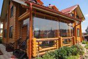 Фото 36 Прозрачные шторы для беседок и веранд (100+ фото): комфорт на даче круглый год и обзор наиболее изящных идей для декора