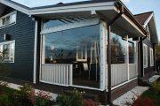 Фото 38 Прозрачные шторы для беседок и веранд (100+ фото): комфорт на даче круглый год и обзор наиболее изящных идей для декора