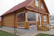 Фото 44 Прозрачные шторы для беседок и веранд (100+ фото): комфорт на даче круглый год и обзор наиболее изящных идей для декора