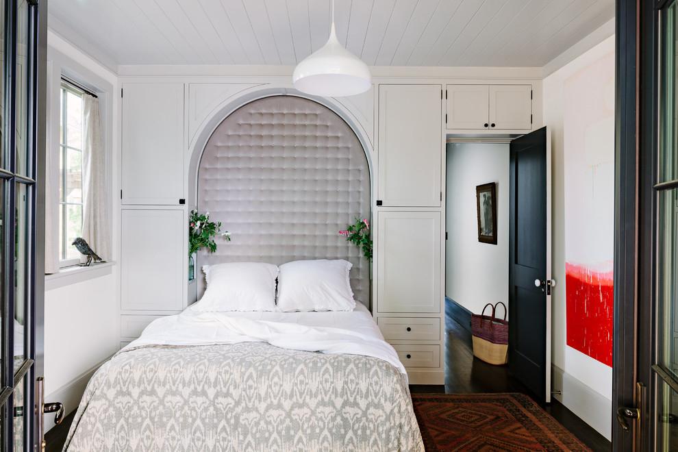 Маленькое пространство дизайн спальни