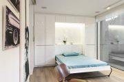 Фото 30 Спальные комнаты: как организовать интерьер в условиях ограниченного пространства и 85 лучших реализаций