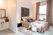 Фото 2 Спальные комнаты: как организовать интерьер в условиях ограниченного пространства и 85 лучших реализаций