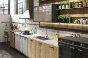 Фото 8 Чем отделать стены на кухне: обзор наиболее практичных и комфортных вариантов