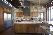 Фото 13 Чем отделать стены на кухне: обзор наиболее практичных и комфортных вариантов