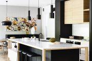 Фото 18 Чем отделать стены на кухне: обзор наиболее практичных и комфортных вариантов