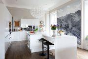 Фото 19 Чем отделать стены на кухне: обзор наиболее практичных и комфортных вариантов