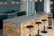 Фото 23 Чем отделать стены на кухне: обзор наиболее практичных и комфортных вариантов