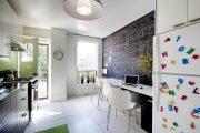 Фото 29 Чем отделать стены на кухне: обзор наиболее практичных и комфортных вариантов