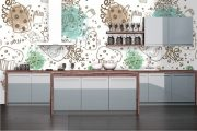 Фото 37 Чем отделать стены на кухне: обзор наиболее практичных и комфортных вариантов