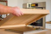 Фото 11 Встраиваемая газовая варочная панель: 75+ стильных и мультифункциональных решений  для кухни