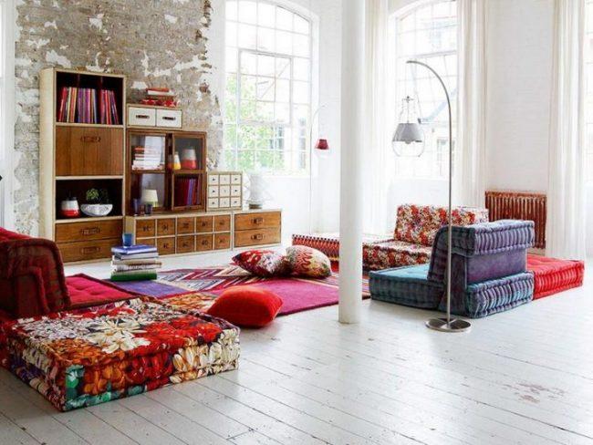 Бохо стиль в интерьере современного загородного домика