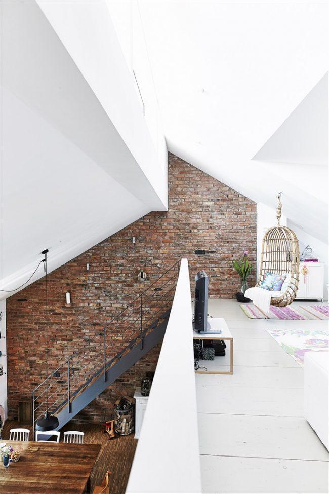 Двухуровневый дом в стиле лофт