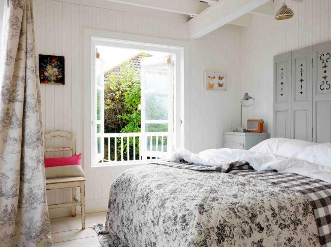 Расслабляющие пастельные тона для спальни прованс