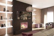 Фото 8 Фактурные краски для стен: особенности, преимущества и 75+ современных идей для интерьера