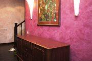 Фото 9 Фактурные краски для стен: особенности, преимущества и 75+ современных идей для интерьера