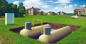 Газгольдер для частного дома: как выбрать, монтаж и обзор оптимальных вариантов для загородного дома фото