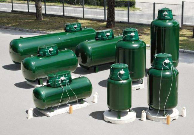 Профессиональная компания поможет подобрать резервуар для газа с необходимым объемом