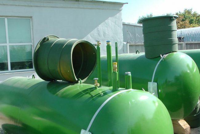 Выбор газгольдера для автономного использования лучше остановить на моделях проверенных фирм