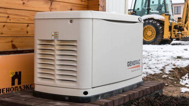 Газовый электрогенератор поможет решить проблему отсутствия электричества