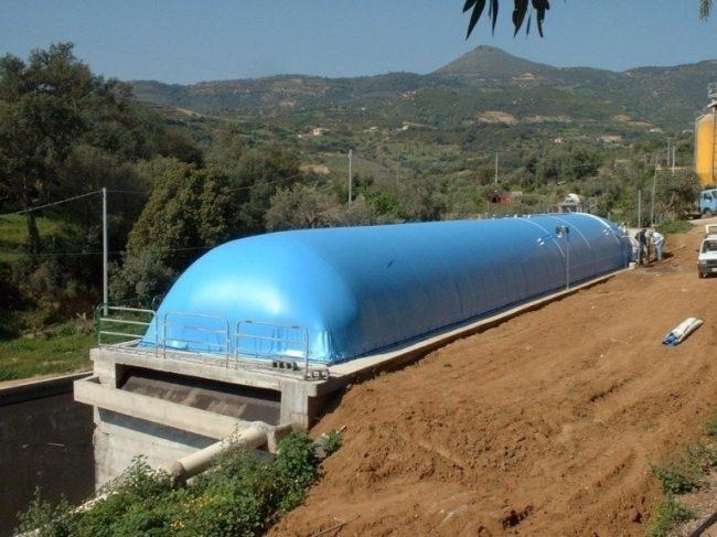 Газгольдер для частного сектора