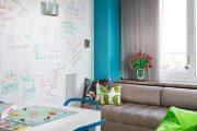 Фото 5 Маркерная краска для стен: необъятный простор для творчества и 85+ лучших вариантов исполнения