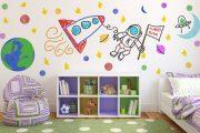 Фото 3 Маркерная краска для стен: необъятный простор для творчества и 85+ лучших вариантов исполнения