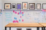 Фото 1 Маркерная краска для стен: необъятный простор для творчества и 85+ лучших вариантов исполнения