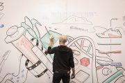 Фото 26 Маркерная краска для стен: необъятный простор для творчества и 85+ лучших вариантов исполнения