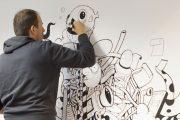 Фото 29 Маркерная краска для стен: необъятный простор для творчества и 85+ лучших вариантов исполнения