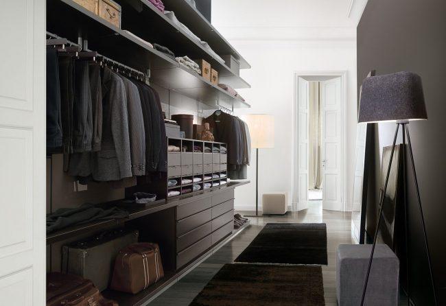 Модульная система хранения для зоны гардеробной