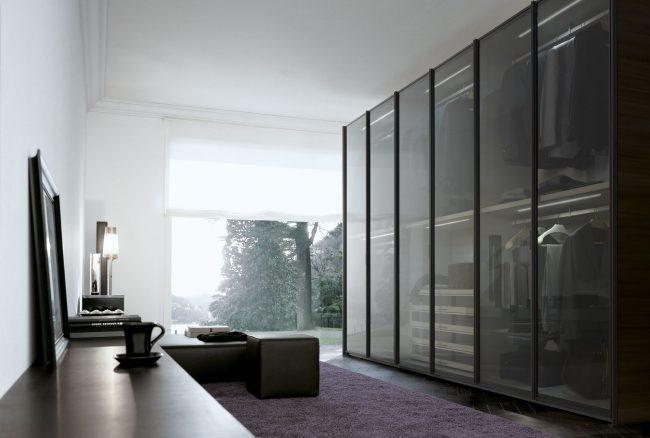 Встроенная закрытая модульная система хранения вещей для современной гостиной