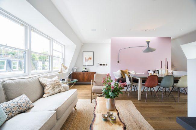 Площадь в 64 кв.м. позволит воплотить в реальность многие ваши дизайнерские идеи