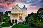 Фото 8 Планировка двухэтажного дома 8 на 8: варианты возведения и 85 лучших готовых проектов