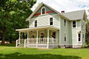 Фото 11 Планировка двухэтажного дома 8 на 8: варианты возведения и 85 лучших готовых проектов
