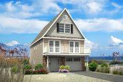 Фото 16 Планировка двухэтажного дома 8 на 8: варианты возведения и 85 лучших готовых проектов