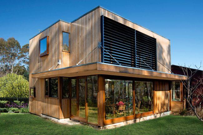 Деревянные двухэтажные дома снова становятся популярными