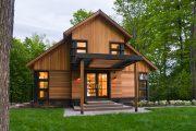Фото 36 Планировка двухэтажного дома 8 на 8: варианты возведения и 85 лучших готовых проектов
