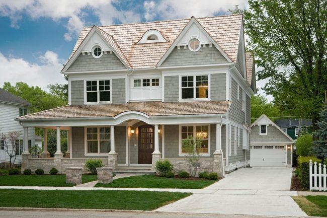 Каркасные дома, за счет скорости и легкости постройки, получили большую популярность